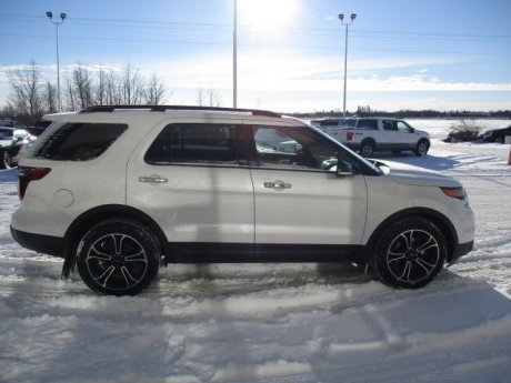 2013 Ford Explorer Sport, SEATS 7, SYNC 2
