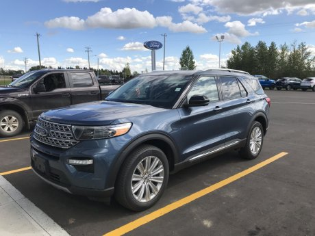 2020 Ford Explorer Limited - Hybrid